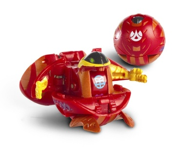 Red Preyas Bakugan Loose High G-Power