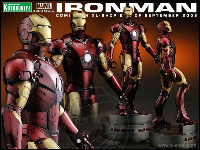 How Cool is this Iron Man Statue