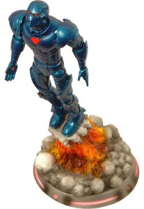 Stealth Blue Iron Man Marvel Select Legends Action Figure