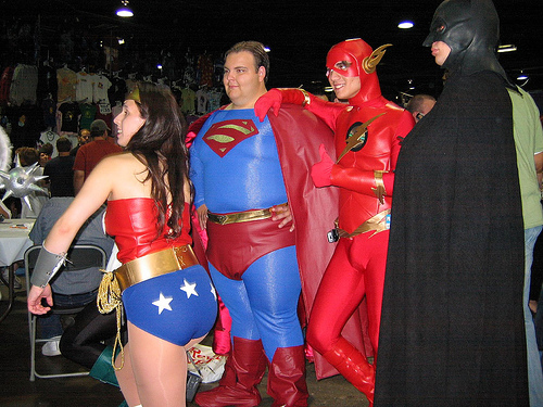 Wonder Woman and the JLA Boys