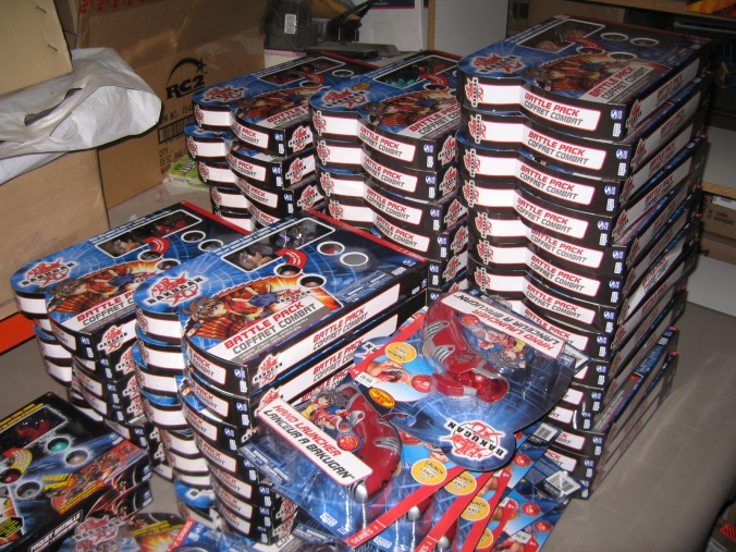 Bakugan Battle Packs and Launchers