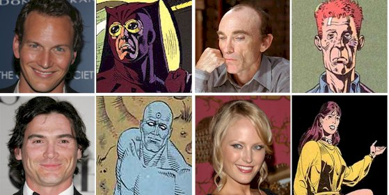 Watchmen Movie Cast