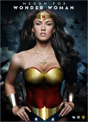 Meagan Fox as Wonder Woman