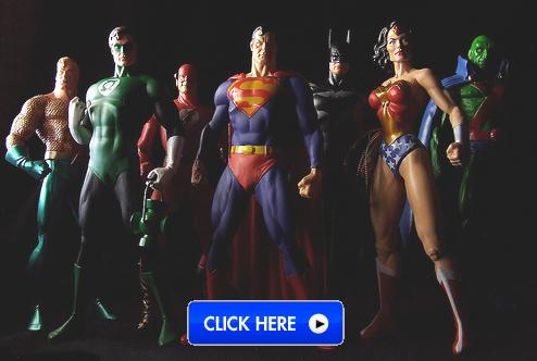 Alex Ross JLA Action Figures from DC Direct
