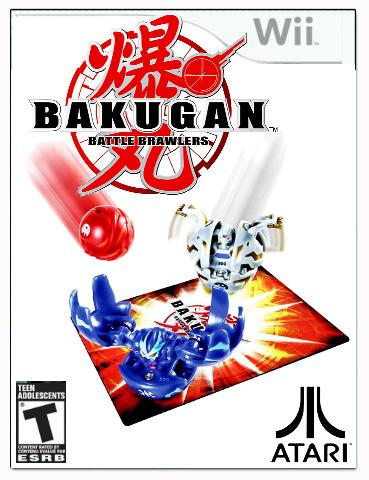 Bakugan Nintendo Wii Video Game