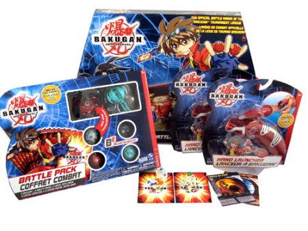 Bakupearl Bakugan Gift Set