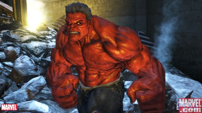 Red Hulk from Video Game