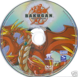 Bakugan Battle Training DVD