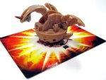 Brown Bakugan Spin Dragonoid