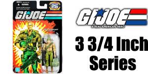 GI Joe 3 3/4 inch Action Figures