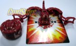 Red Trap Scorpion Bakugan
