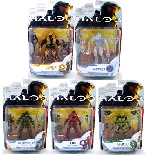 halo 3 series 4 action figures