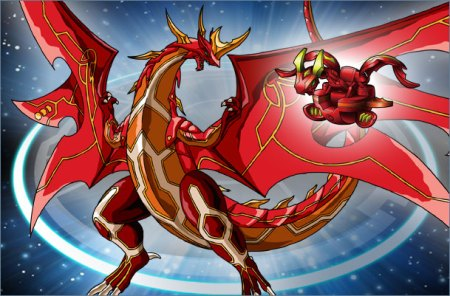 Click the image to see more Bakugan Creatures!