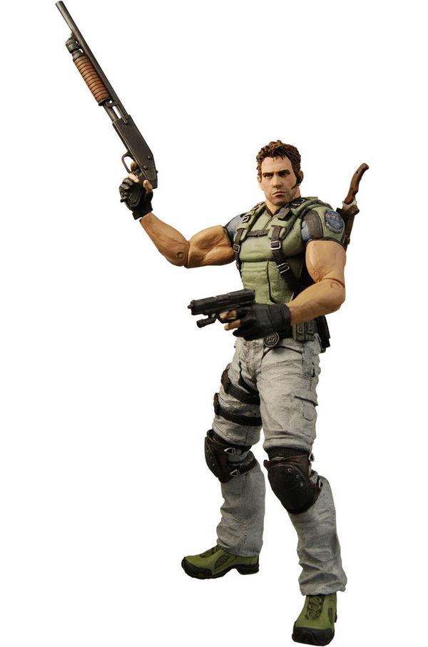 Chris Redfield Resident Evil 5 Action Figure Neca