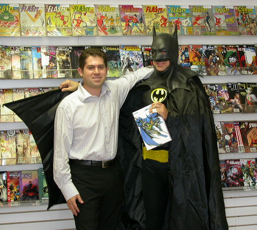 Batman and Mike Joffre