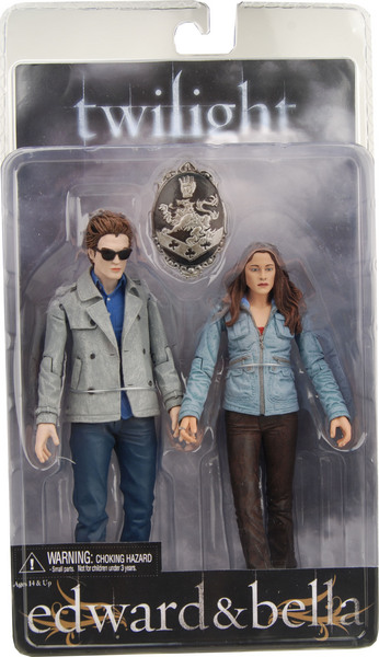 Twilight Action Figure 2-Pack Series: Edward & Bella