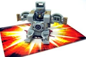 Special Attack Bakugan Grey Zoack