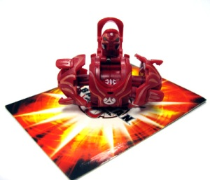 Special Attack Bakugan Red Carlsnaut