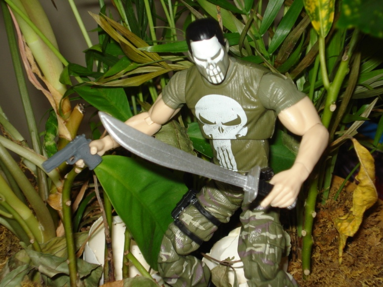 Camo Punisher in Jungle Photo