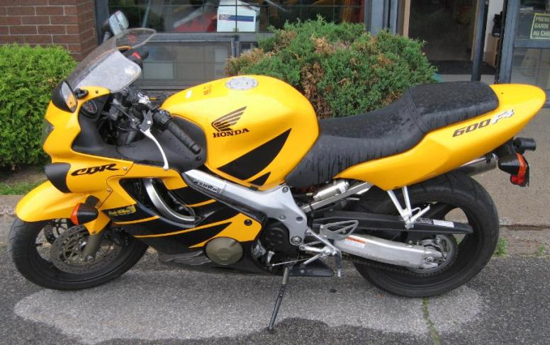 Dave's Honda CBR600