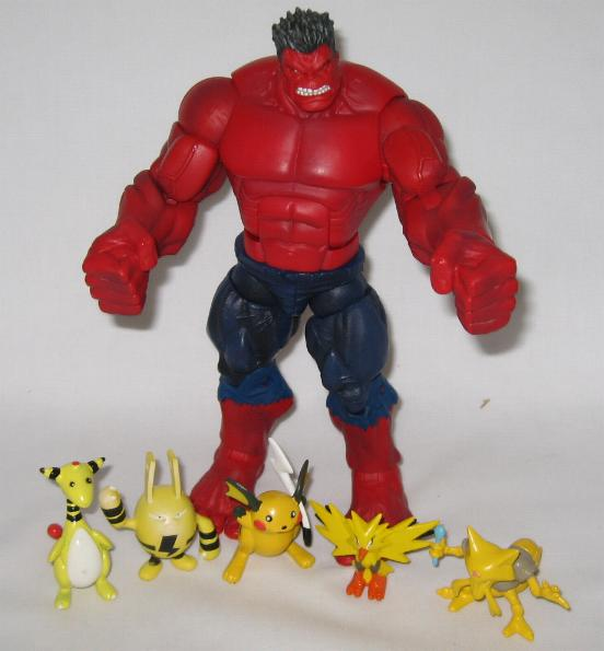 Red Hulk Build-a-Figure BAF Marvel Legends