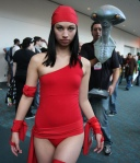 Elektra from Daredevil San Diego Comic Con 2009