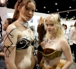 Hot Chicks at the San Diego Comic Con 2009