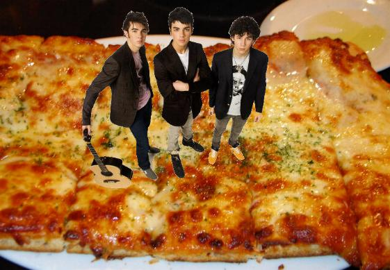 Jonas Brothers Cheese Pizza