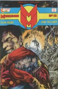Name change to Miracleman from Marvelman