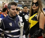 Nick Fury and Ms Marvel San Diego Comic Con 2009