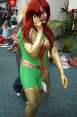 Green Costume Phoenix San Diego Comic Con 2009