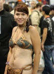 Slave Leia San Diego Comic Con 2009