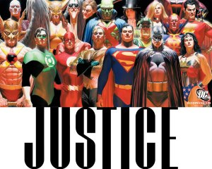 alex ross justice poster