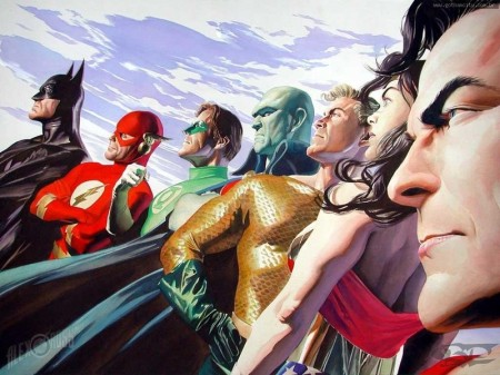 JLA Alex Ross DC Comics Poster