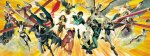 JLA Golden Poster by Alex Ross