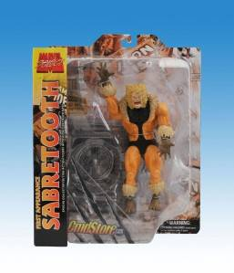 Sabretooth First Appearance Marvel Select Figure