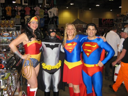 Wonder Woman and all at Toronto Fan Expo 2009