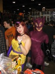 Silk Spectre and Catwoman at Toronto Fan Expo 2009