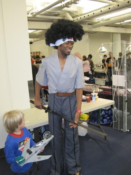 Afro Samurai Costume