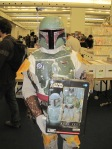 Boba Fett showcasing a Boba Fett Action Figure