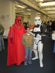 Star Wars Imperial Guard and Sand Trooper