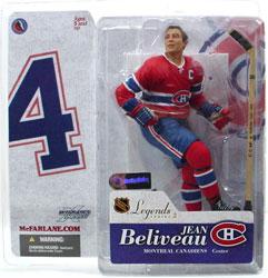 Jean Beliveau NHL Legends Series 2 Figure