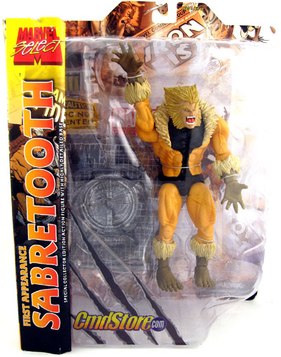 First Appearance Marvel Select Sabretooth