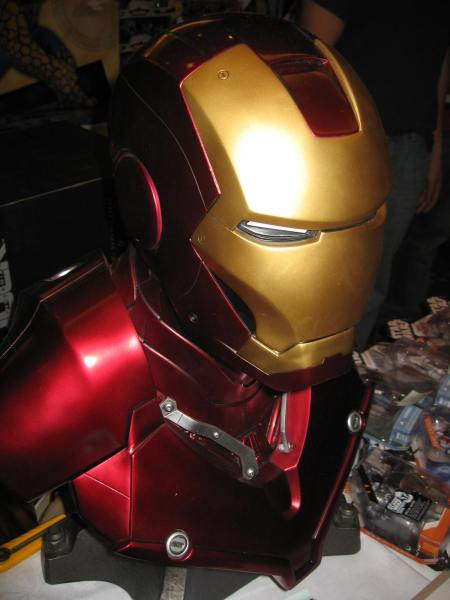 Montreal Toy Show Iron Man Sideshow Light Up Bust