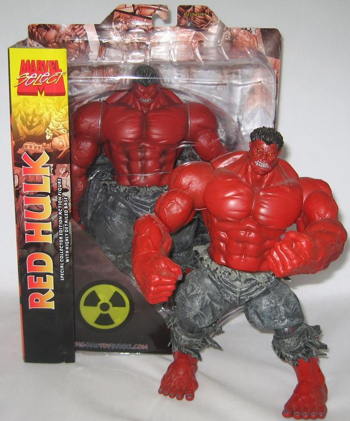 Marvel Select Red Hulk Exclusive Figure