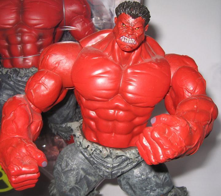 Red Hulk Exclusive Marvel Select Bigbadtoystore.com