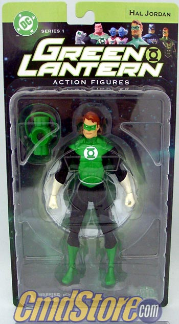 Green Lantern Hal Jordan Action Figure