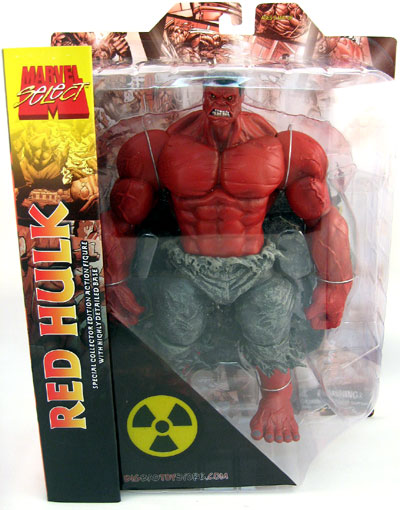 Red Hulk Marvel Select Action Figure