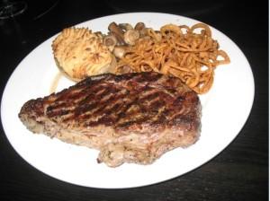 The Keg's Ribeye Steak