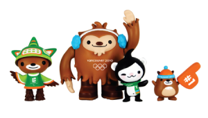 Vancouver 2010 Winter Olympics Toys